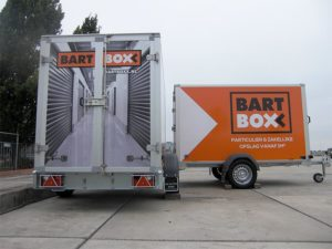 Aanhangwagen BartBoxx Huissen